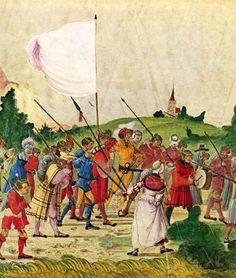 Artist: Albrecht Altdorfer Title: Triumphzug Kaiser Maximilians, Szene: Der Tross, Detail Date: 1513-1515