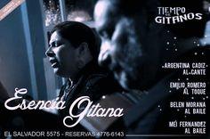 ESENCIA GITANA este viernes imperdible!!!  Reservas: 4776 6143 Cena Show, December, Friday, Flamingo