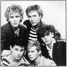 Duran Duran, still one of my favourite groups!! Simon Le Bon was my first major crush! :)