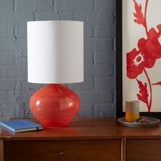 Nook Glass Vessel Table Lamp