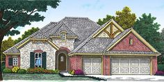 Plan 48355FM: Small in Size, Big on Features