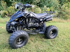 Jet Moto ATV 150 Sport Quad. Fully Automatic CVT - Rugged Suspension - Dual Front Shocks!