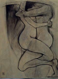 Saatchi Online Artist Iain Maclean; Painting, The Lovers #art