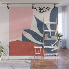 Summer Sunset Wall Mural by ivetaangelova - Murales Pared Exterior Bedroom Murals, Bedroom Wall, Wall Design, House Design, Mural Wall Art, Diy Wall, Colorful Interiors, Room Inspiration, Decoration