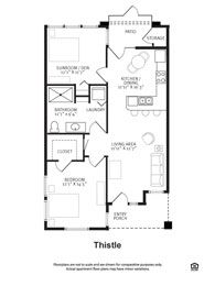 Casita floor plans sq ft dallas tx bella casita for Casitas floor plans