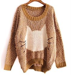 Cat big yards sweater BACGG