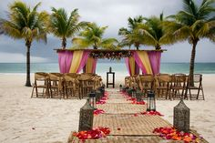 Secrets Maroma is situated on what many describe as the number one beach in the WORLD! The beach can accommodate up to 120 guests for a ceremony #SecretsMaromaBeachRivieraCancun #Mexico #DestinationWedding