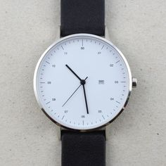 #minimalism #watch #contemporary #moden #monochrome #productdesign #simplicity