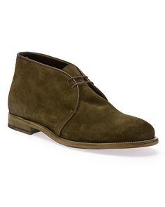 Fratelli Rossetti Men's Suede Chukka Boot