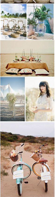 - Bodas Colorín Colorado -: - Bodas en la Playa 1ª parte    Beach Wedding Inspiration
