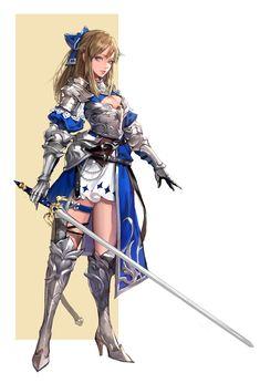 ArtStation - girl_knight2, MA JO