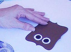 Owl treat bag template pdf