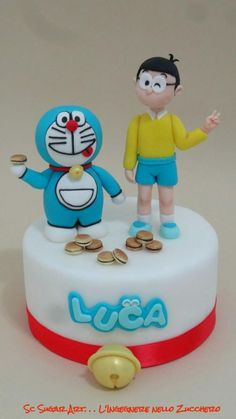 Doraemon - Cake by Sc Sugar Art L'ingegnere nello Zucchero