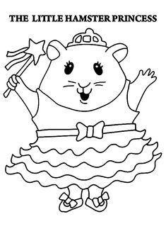 25 best hamster coloring pages your toddler will love to color coloring pages toddlers