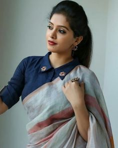 7 Blouse Designs which will Leave You Mesmerized Indian bride looks the best when she wear a saree! 7 Blouse Designs which will Leave You Mesmerized Indian bride looks the best when she wear a saree! Indian Blouse Designs, Blouse Designs High Neck, Cotton Saree Blouse Designs, Stylish Blouse Design, Fancy Blouse Designs, Bridal Blouse Designs, Latest Saree Blouse Designs, Pattern Blouses For Sarees, Designer Saree Blouses