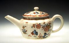 Teapot and Cover Bow Factory Date: ca. 1752–1754
