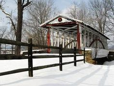 Dr. Knisely Covered Bridge, Bedford County, Pennsylvania - Professional Photos