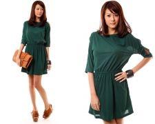 Loha Cutout Dress in Green