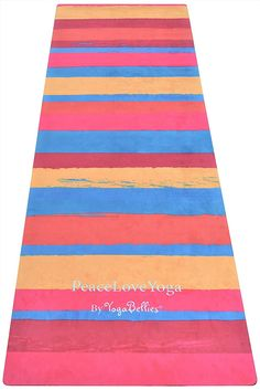 Now available for sale on the #peaceloveyogashop: PeaceLoveYoga Mat...    http://www.cherylmacdonaldyoga.com/products/peaceloveyoga-mat-by-yogabellies-luxury-womens-natural-rubber-pro-yoga-mat-eco-friendly-no-mat-towel-required-perfect-for-hot-yoga-bikram-ashtanga-pregnancy-100-money-back-guarantee-3?utm_campaign=social_autopilot&utm_source=pin&utm_medium=pin