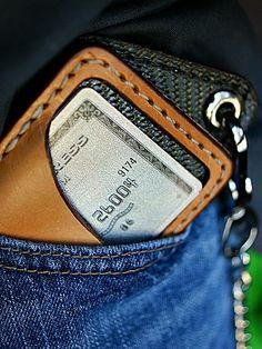 Custom Vvault Front Pocket Wallet + Chain-Vvego http://www.vvego.com/custom/