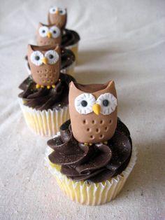 owl cake | Tumblr