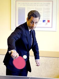 Sarkozy ping ponging