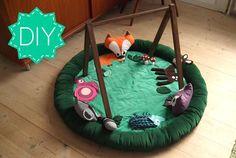 Adorable DIY baby activity Mat
