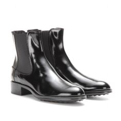 mytheresa.com - LEATHER CHELSEA BOOTS - booties - shoes - Luxury Fashion for Women / Designer clothing, shoes, bags
