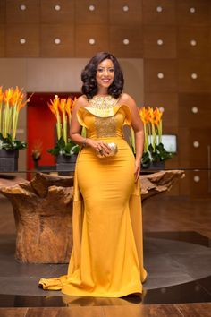 I'm naturally endowed - Joselyn Dumas - SmileCelebs African Attire, African Fashion Dresses, African Dress, African Wear, African Style, Prom Dresses Under 50, Prom Dresses For Sale, Wedding Dresses, Evening Party Gowns