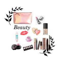 """""""Cosmetic"""" by narminabasoffa ❤ liked on Polyvore featuring beauty, H&M, Laura Mercier, Burberry, Stila, NARS Cosmetics, In Your Dreams, Maybelline, Too Faced Cosmetics and Givenchy"""