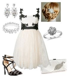 """""""Black & White Ball #8"""" by briony-jae ❤ liked on Polyvore featuring Amour, Ambre & Louise, Forever 21, Notte by Marchesa and Charlotte Russe"""