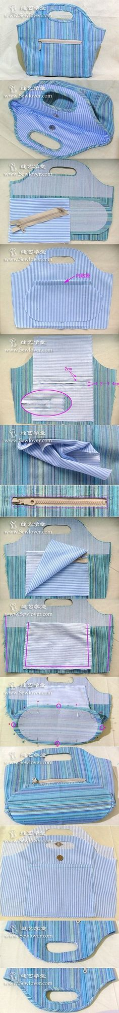 1 million Stunning Free Images to Use Anywhere Handbag Patterns, Bag Patterns To Sew, Sewing Patterns, Patchwork Bags, Quilted Bag, Sewing Tutorials, Sewing Projects, Purse Tutorial, Denim Bag