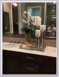 Best Of Bathroom Vanity Tray Decor . Best Of Bathroom Vanity Tray Decor . Pin by Mike Stay Fresh Bathroom Ideas Bathroom Vanity Tray, Bathroom Counter Decor, Bathroom Countertops, Bathroom Spa, Bathroom Interior, Bathroom Ideas, Bathroom Organization, Bathroom Remodeling, Remodeling Ideas