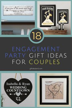 18 Amazing Engagement Party Gifts For S Him Her Bride Groom