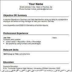 Medical Resume Templates Free DownloadsMedical Laboratory
