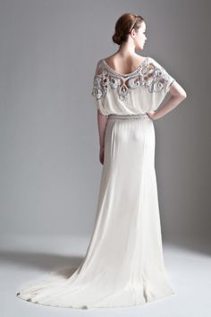 6852615ae5c1 Vintage chic gown love - the back of this Temperley London dress will stun  an entire room!