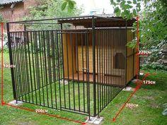 Resultado de imagen para aviario de bricolaje para un perro - Dogs - Bolsos para Perros pequeños Dyi Dog House, Dog House Plans, Dog Kennel Outside, Diy Dog Kennel, Outdoor Dog Area, Dog Backyard, Dog Kennel Designs, Puppy Room, Dog Yard