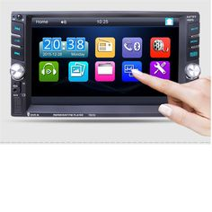 63.90$  Buy here - http://aligns.worldwells.pw/go.php?t=32749472258 - G1 Tiptop 6.6 Bluetooth Car Stereo Audio In-Dash Aux Input Receiver SD/USB MP5 Player 7651D Car Styling Electronic Accessories 63.90$