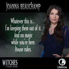 Joanna - Witches of East End