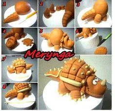 Lovely Dino Cake