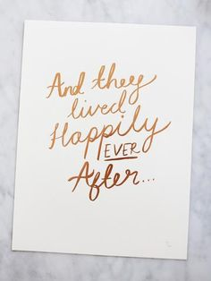 And They Lived... Print