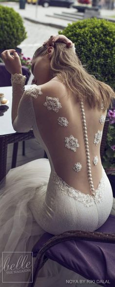 Noya by Riki Dalal Bridal 2018 Shakespeare Collection V #weddinggowns