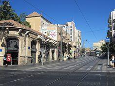 Jerusalem, Israel - Scenic View, Jaffa Road neighborhood (רחוב יפו) #JaffaRoad