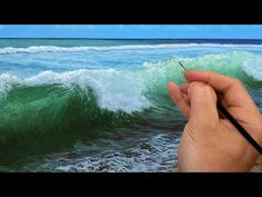 (134) How to paint a crashing wave | Time lapse | Episode 192 - YouTube Michael James Smith, Online Art School, San Bruno, American Video, Ca Usa, Popular Sites, Crashing Waves, Space Time, Art Uk
