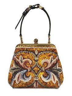 Dolce & Gabbana Byzantine Mosaic Print Medium Agata Bag in Multicolor (multi) - Lyst