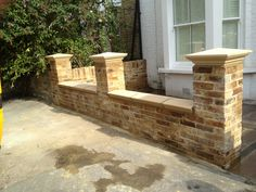 39 Awesome Brick Fence Capping Images Garden Pinterest