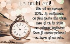 Felicitari de anul nou 2019 - La mulți ani! Bracelet Watch, Youtube, Mai, Noroc, Holidays, New Year Wishes, Essential Oil Blends, Holidays Events, Holiday