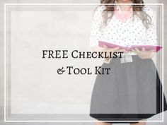 FREE Checklist and Tool Kit for Streamlining Your Business | www.heathercrabtree.com
