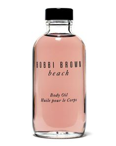 beach body oil ~ i love this scent.