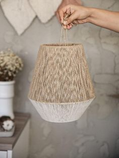 Excited to share this item from my shop: Macrame lamp-String Pendant Lamp, Macrame Ceiling Lamp, Macrame Headboard Lamp, Macrame Ceiling Hanging Ceiling Hanging, Large Macrame Wall Hanging, Diy Hanging, Ceiling Lamp Shades, Ceiling Lamps, Floor Lamps, Chandelier Design, Diy Chandelier, Chandeliers